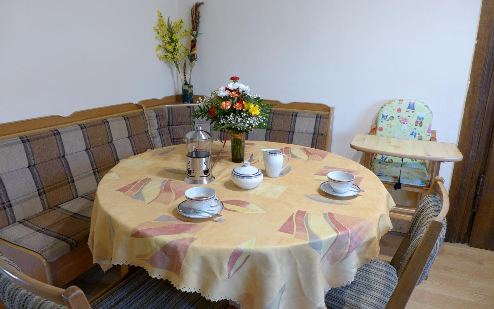 Dining Area in Maly Domek in Rabka Zdrój